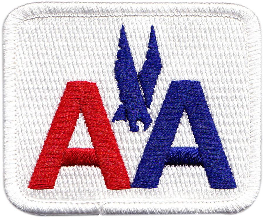 a-a-embroidered-patch